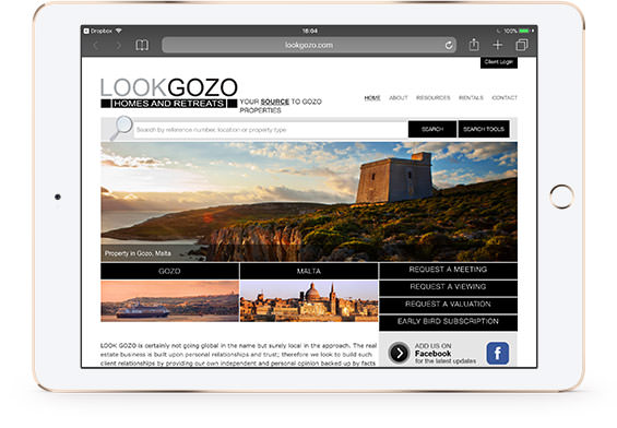 LookGozo Real Estate - Malta