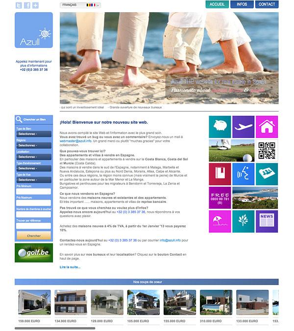 Azull Property Portal