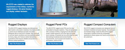 Milcots Rugged Displays and Panel PCs