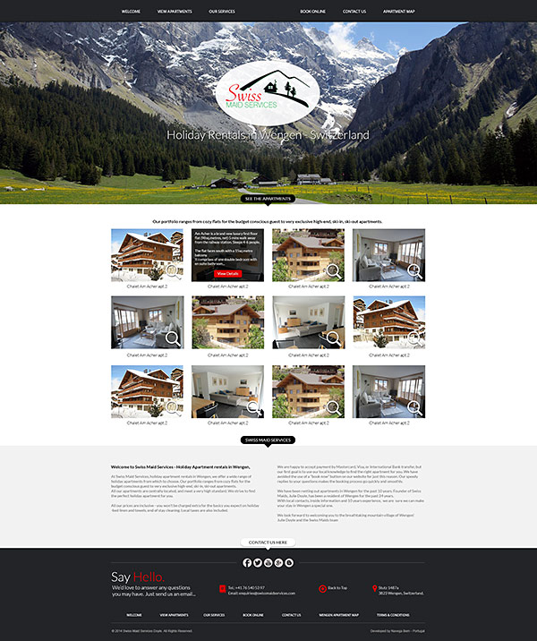 Wengen Holiday Apartment Rentals