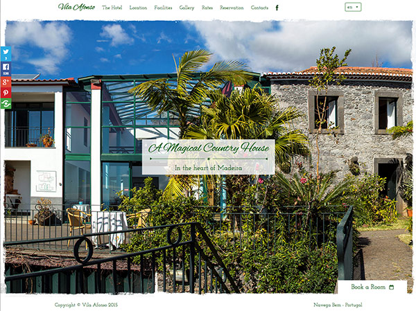 Vila Afonso on Madeira island
