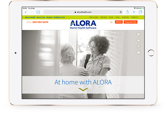 Alora Home Health Software