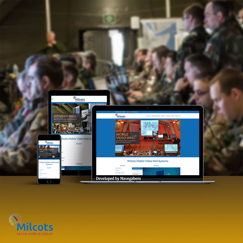 Milcots Mobile Video Wall Systems