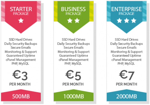 Premium SSD Web Hosting & Domain Names